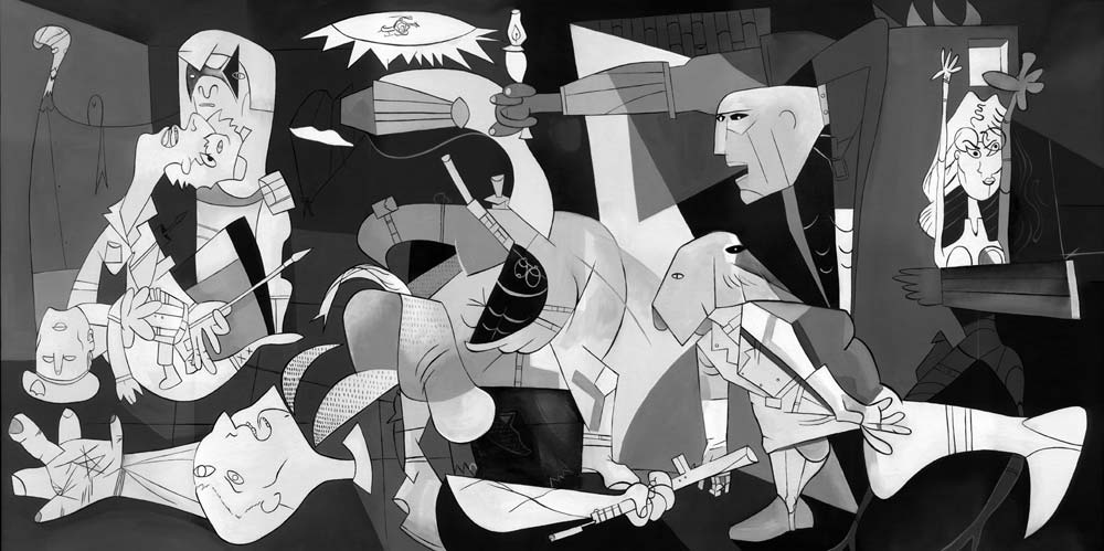 Guernica Wallpaper Hd Images Pictures   Becuo 1000x499