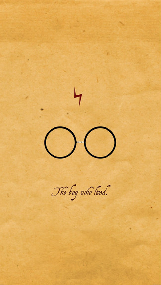 Harry Potter Gold Quote iPhone 4566Plus Wallpaper 325x576