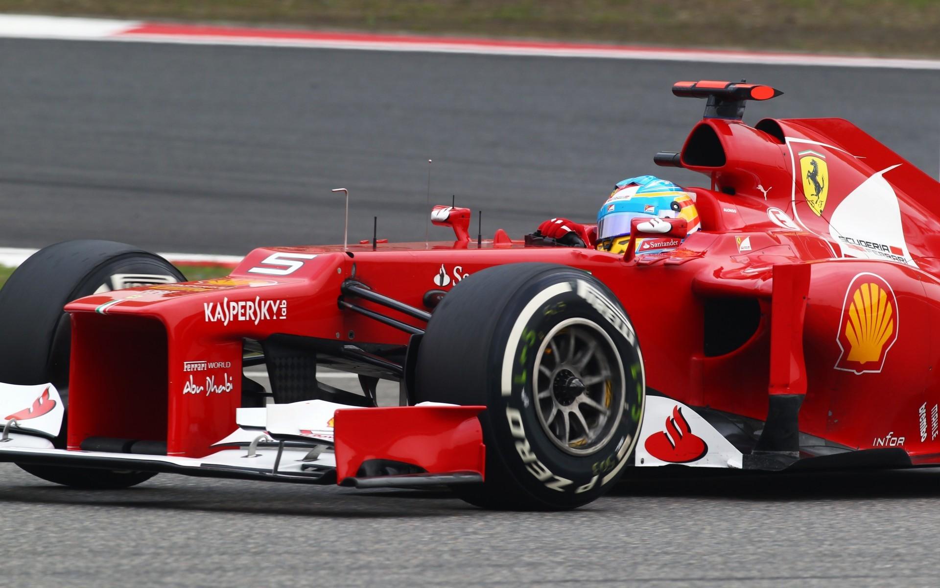 Fernando Alonso   Scuderia Ferrari wallpaper 9607 1920x1200