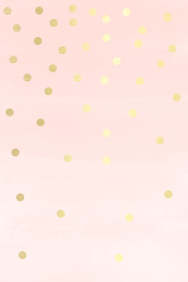 Free Download Pink Gold Spots Dots Iphone Wallpaper Phone Background Lock Screen 640x960 For Your Desktop Mobile Tablet Explore 50 Pink And Gold Desktop Wallpaper Wallpapers For Desktop Pink