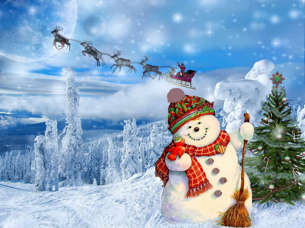cute country snowman wallpaper - photo #44