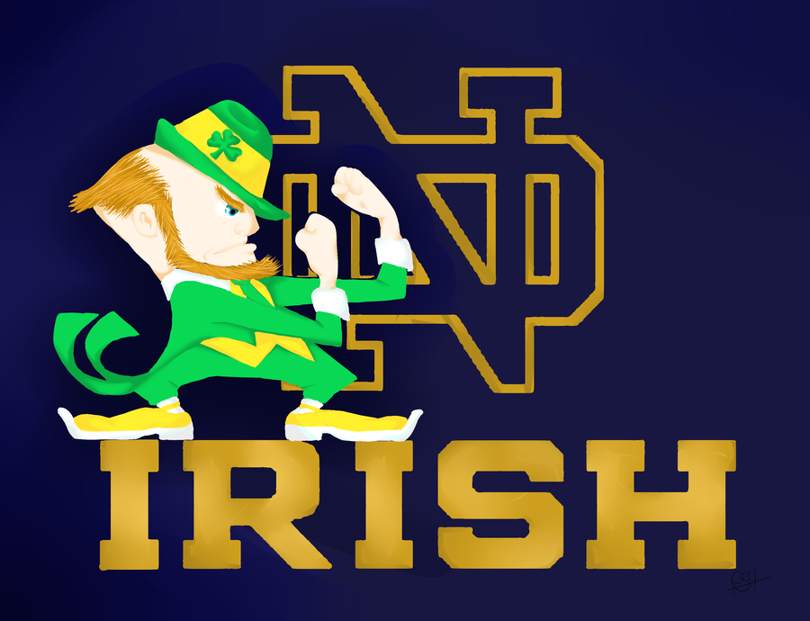 Notre dame fighting irish wallpaper wallpapersafari - Notre dame football wallpaper ...
