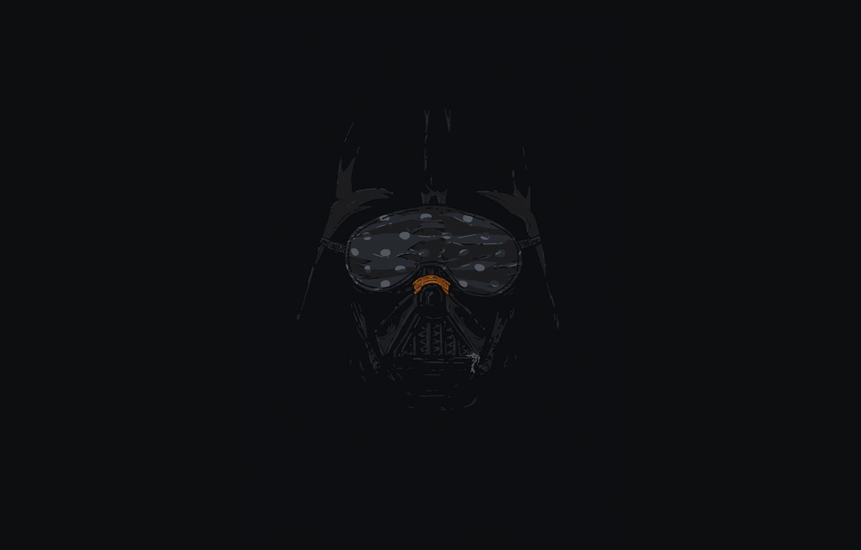 Wallpaper minimalism sleeping star wars the trick Darth Vader 1332x850