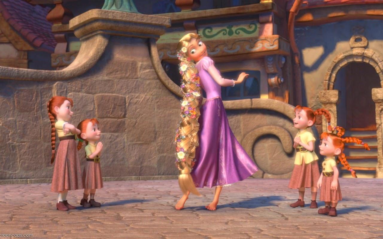 New Kids Cartoons Disney Princess Rapunzel hd Wallpaper 1280x800