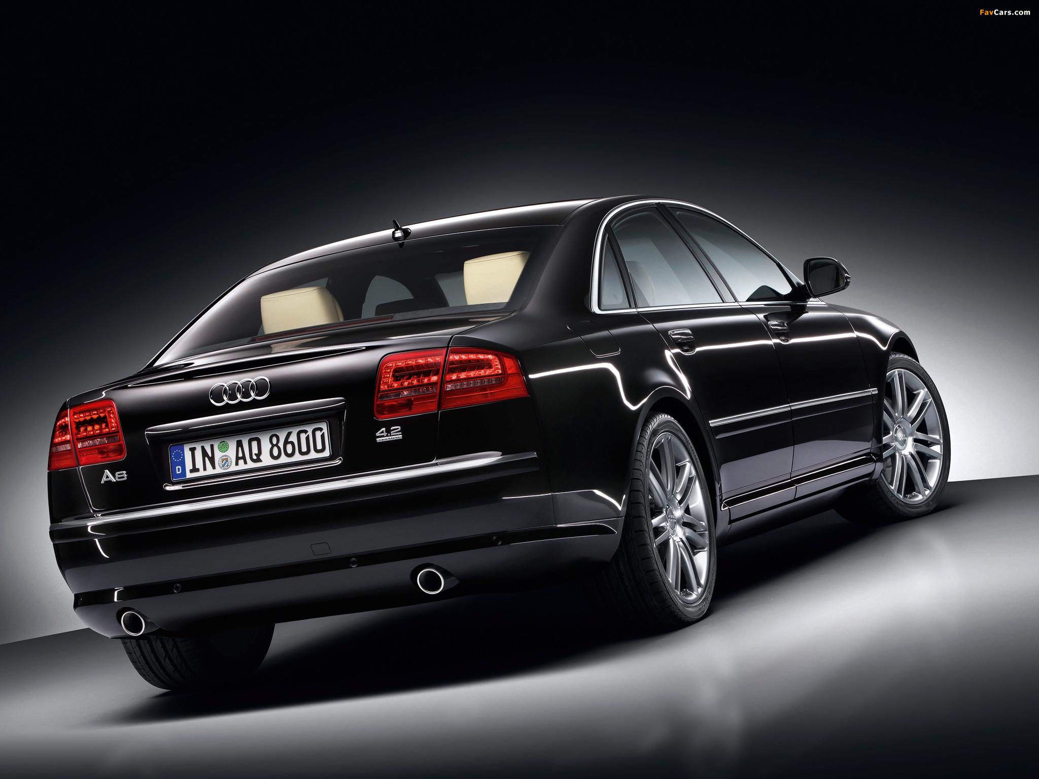 Audi A8 42 quattro D3 200810 wallpapers 2048x1536 2048x1536