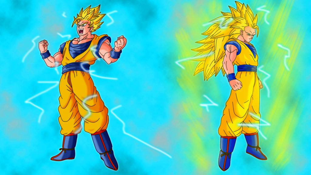 Goku Powering up Wallpapers Goku Power up by Hayabusasnake 1024x578