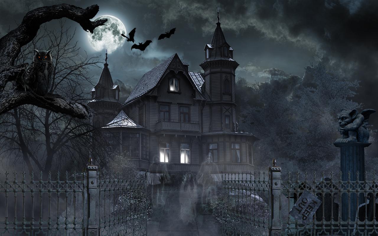 Horror House Live Wallpaper 101 screenshot 2 1280x800