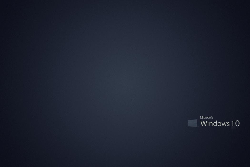 Microsoft Windows 10 Gray Background wallpaper Best HD Wallpapers 1050x700