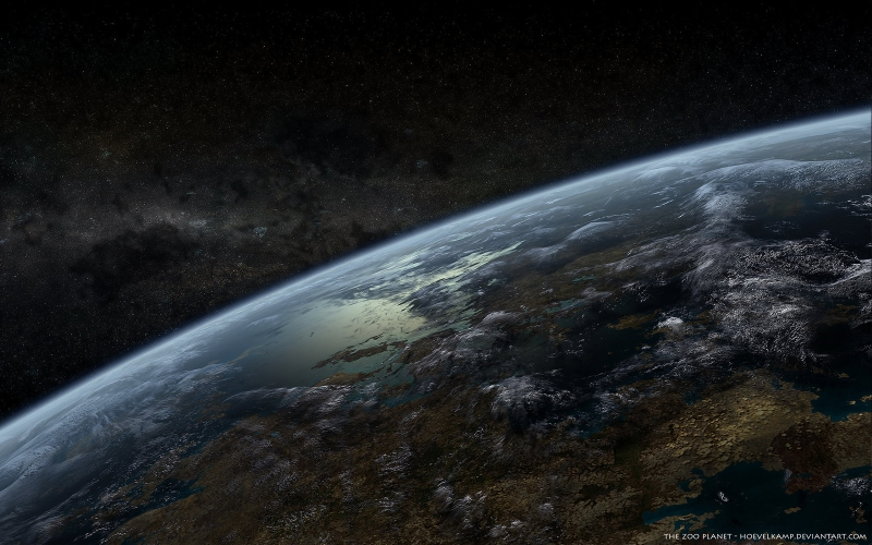 FunMozar Earth Wallpapers From NASA 800x500