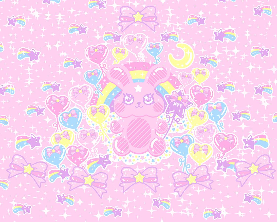 Bubblegum Bunny Skater Dress Made To Order Kawaii Harajuku 1123x900