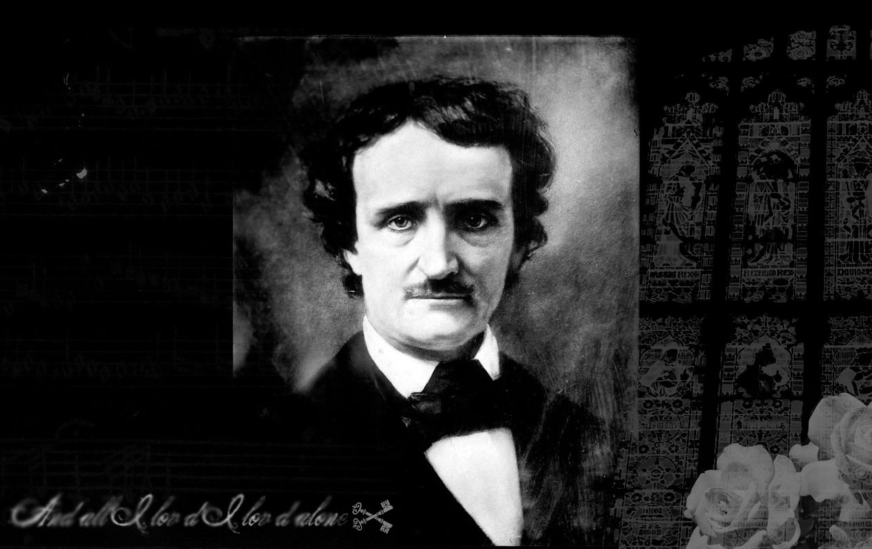 mobile wallpapers edgar allan poe mobile themes american poe poet 1270x800