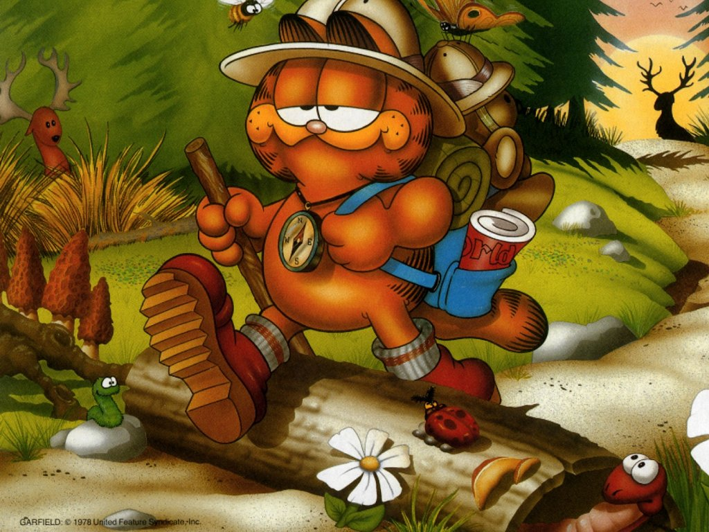 Gato Garfield Wallpapers de Garfield Fondos de pantalla de Garfield 1024x768