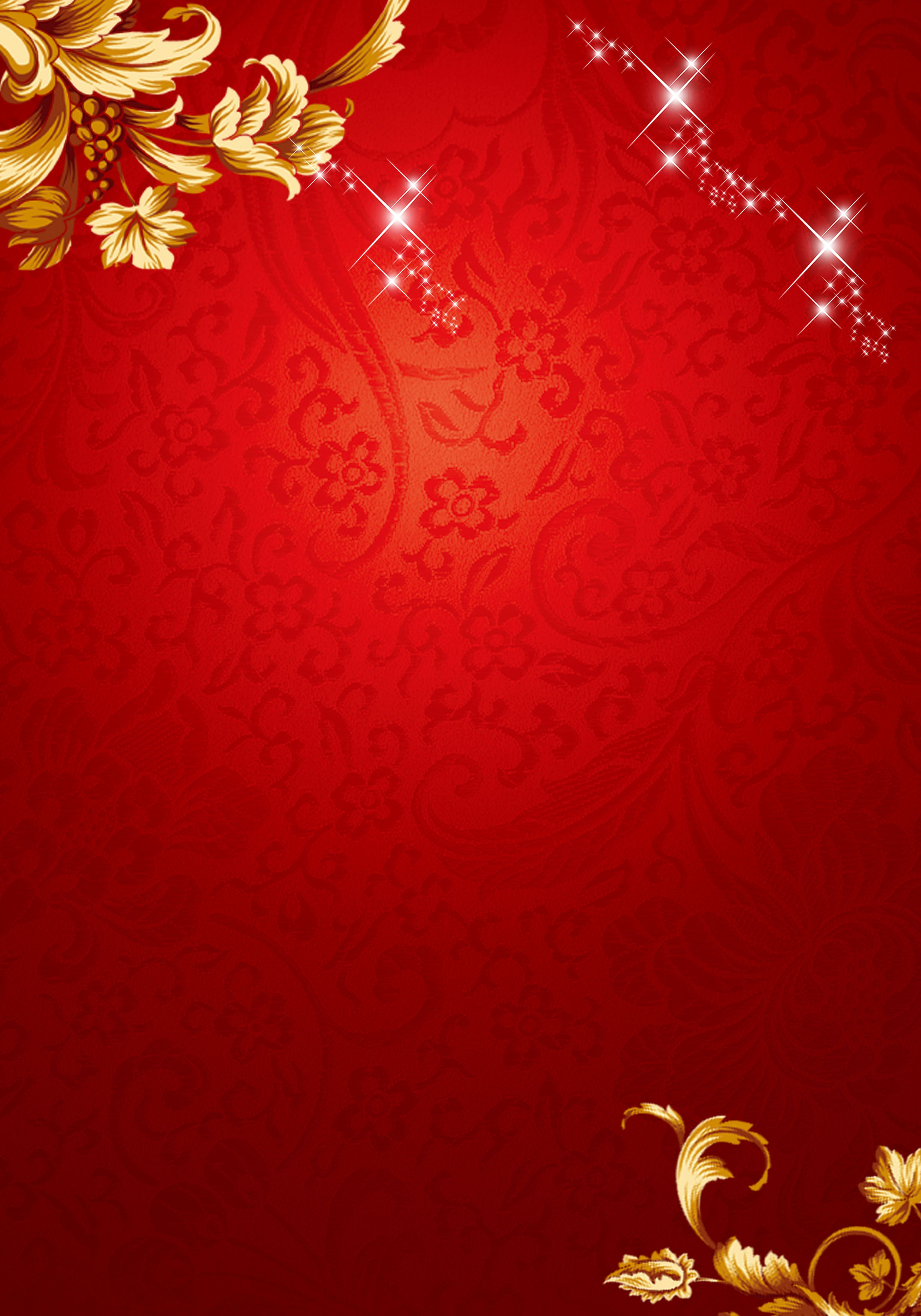 Chinese New Year Red Floral Pattern Background in 2020 3500x5000