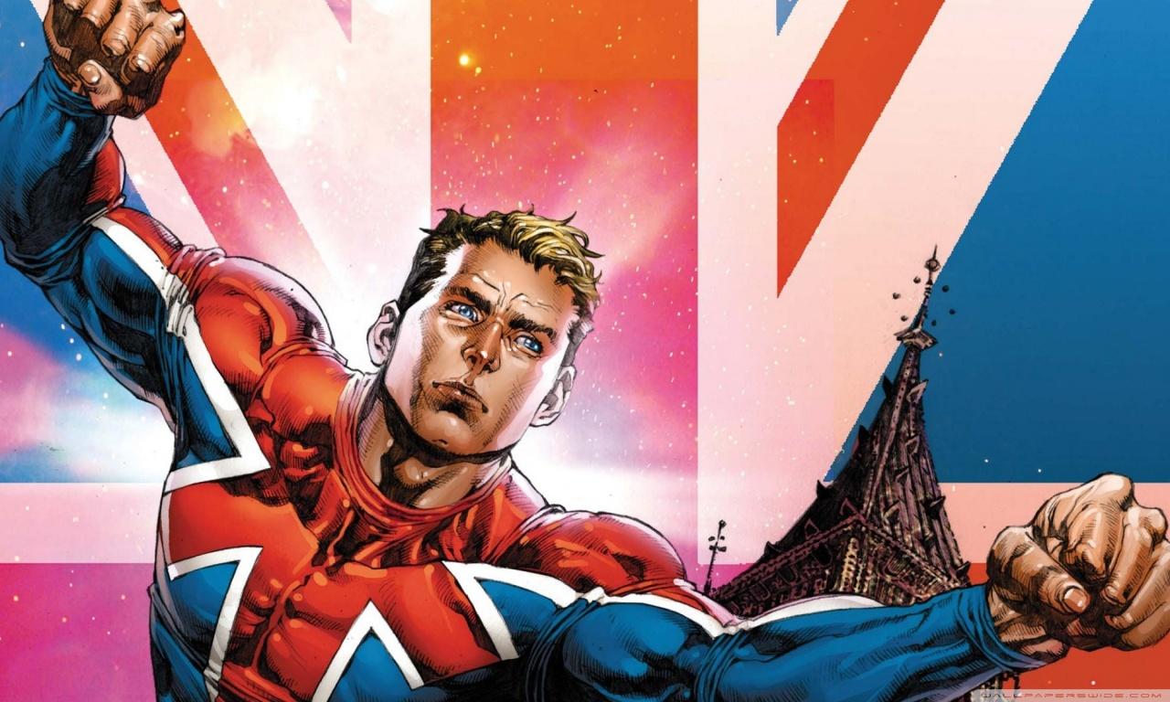 Captain Britain 4K HD Desktop Wallpaper for 4K Ultra HD TV 1280x768