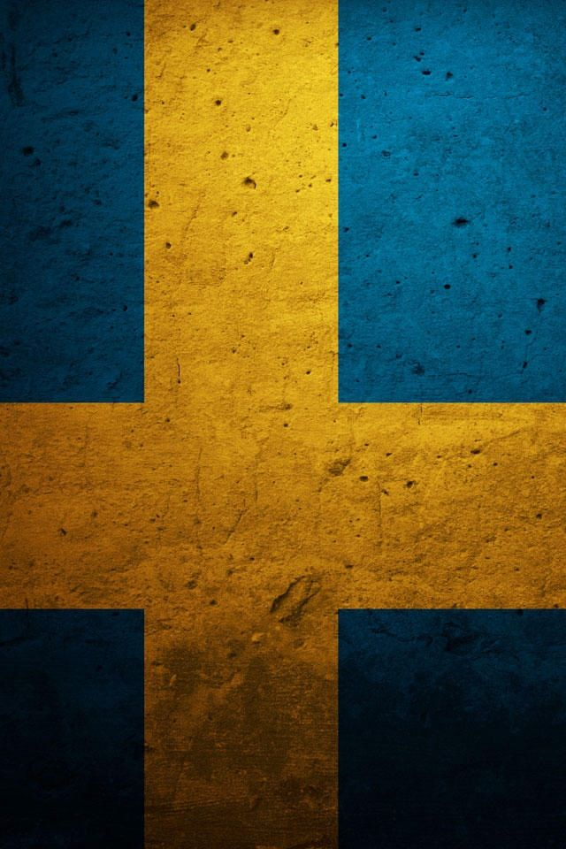 Swedish flag wallpapers in 2019 Swedish flag Flag All the 640x960