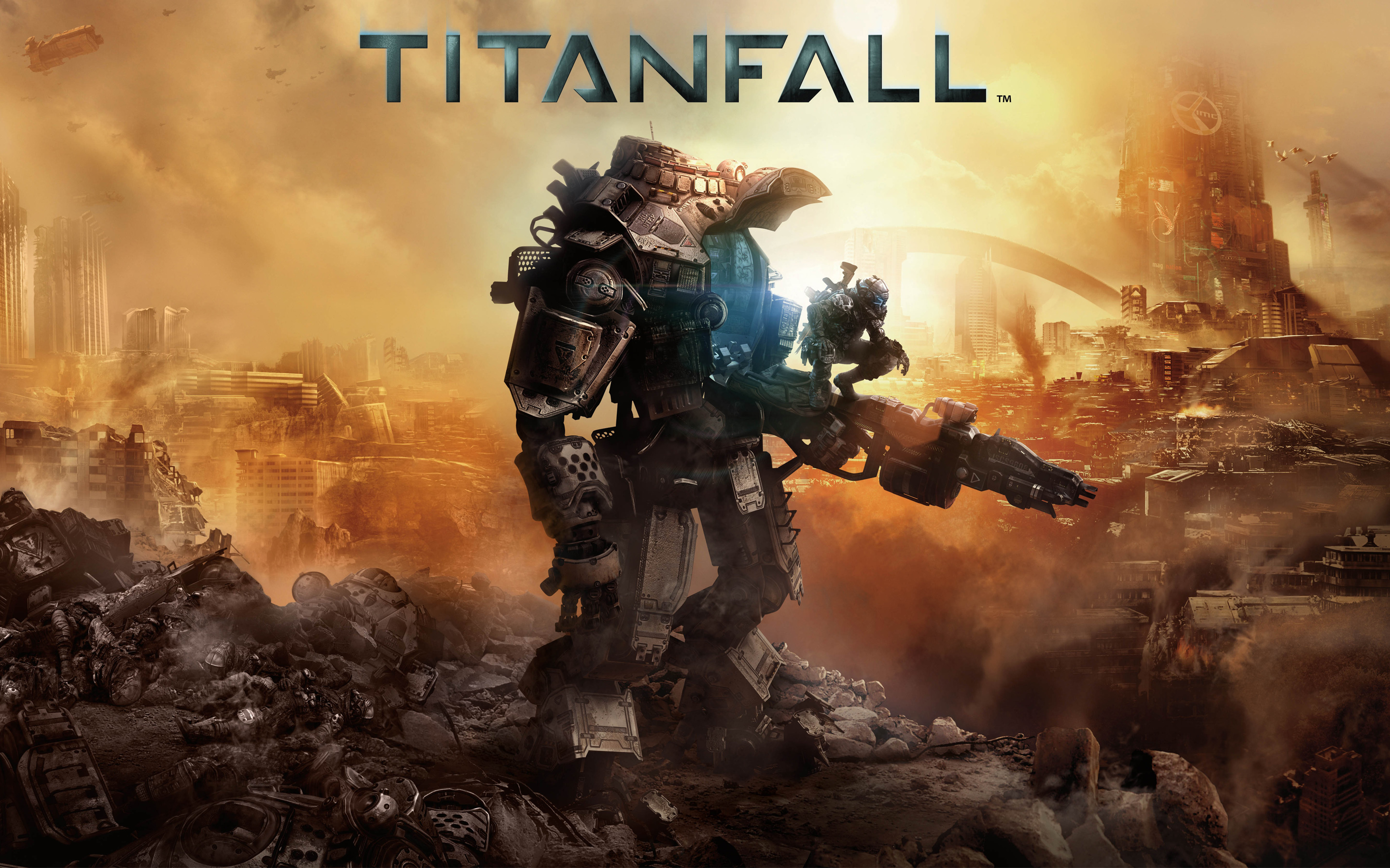 Titanfall 2014 Game Wallpapers HD Wallpapers 2880x1800