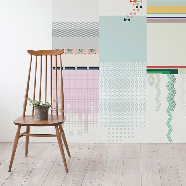 This might be the easiest way to hang wallpaper 645x645