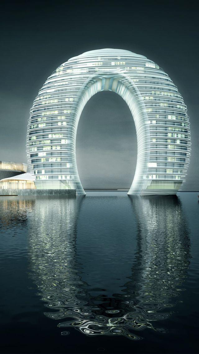 Wallpaper Sheraton Huzhou Hot Spring Resort China Best hotels 640x1138