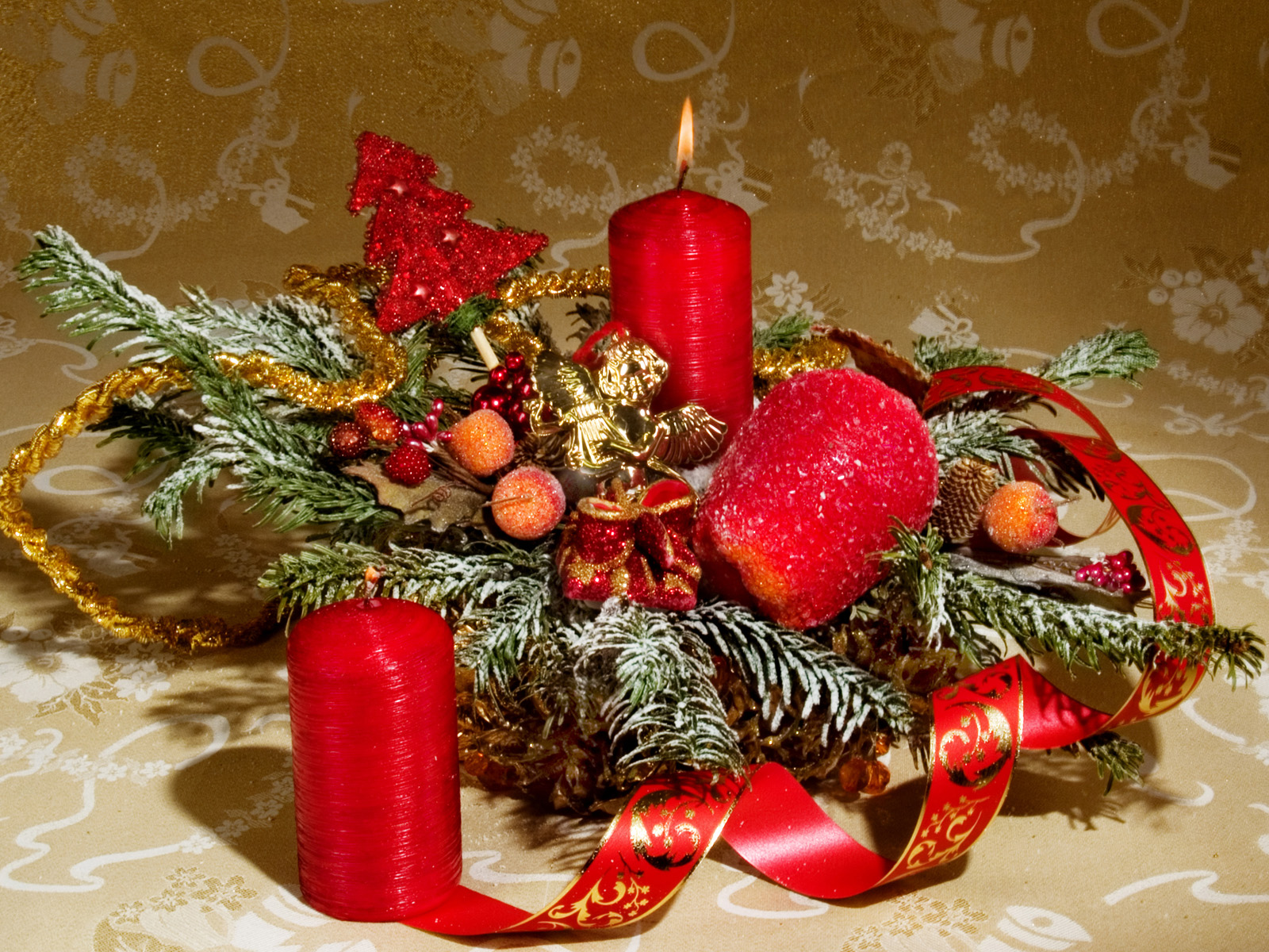 Christmas Candle Wallpapers   Download Christmas Candle Wallpapers 1600x1200