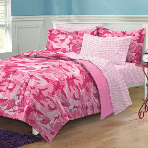 Camo Bedroom Ideas Pink camouflage bedroom decor 500x500
