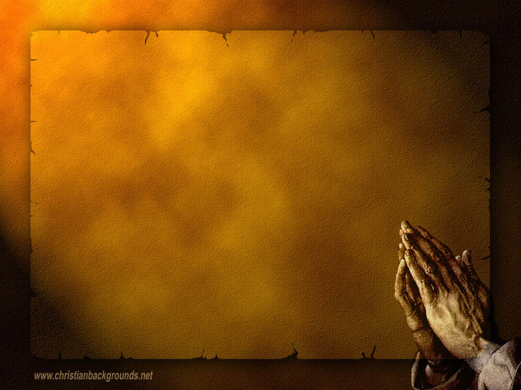 Christian PowerPoint Backgrounds Praying Hands 1024x768