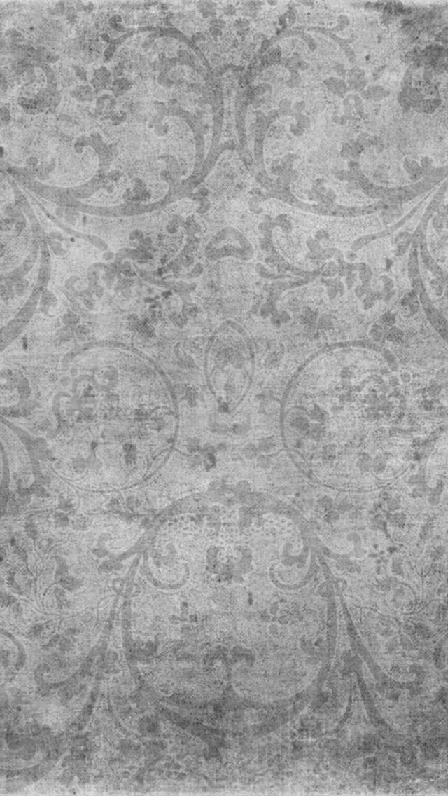 Vintage Gray Print iPhone 5 Wallpapers Hd 640x1136 Iphone 5 Wallpapers 640x1136