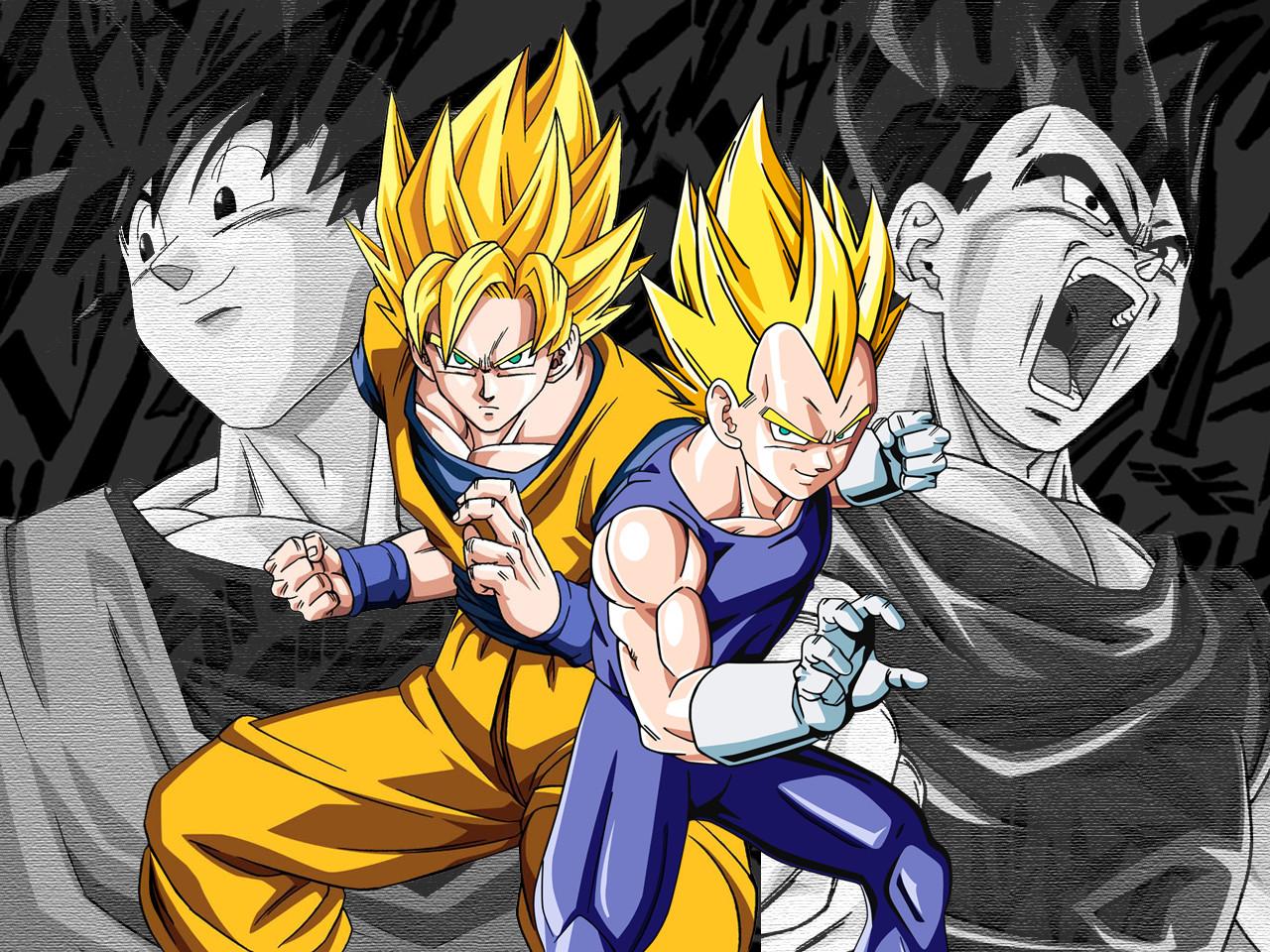 DBZ Goku SSJ4   wallpaper 1280x960