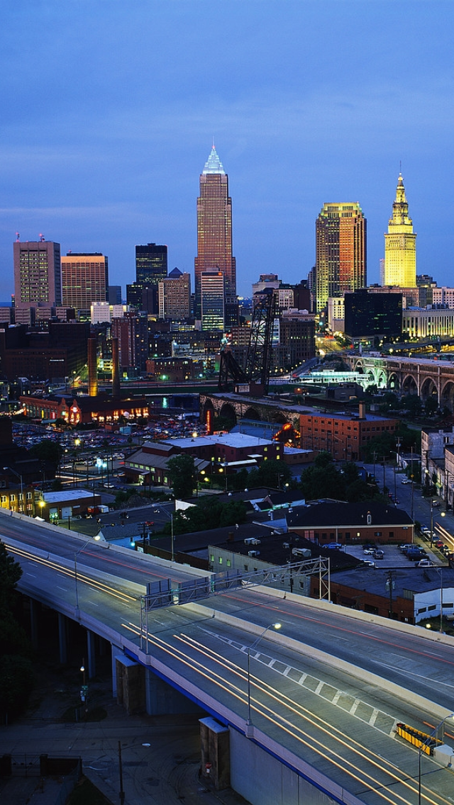 downtown cleveland ohio wallpaper - photo #30