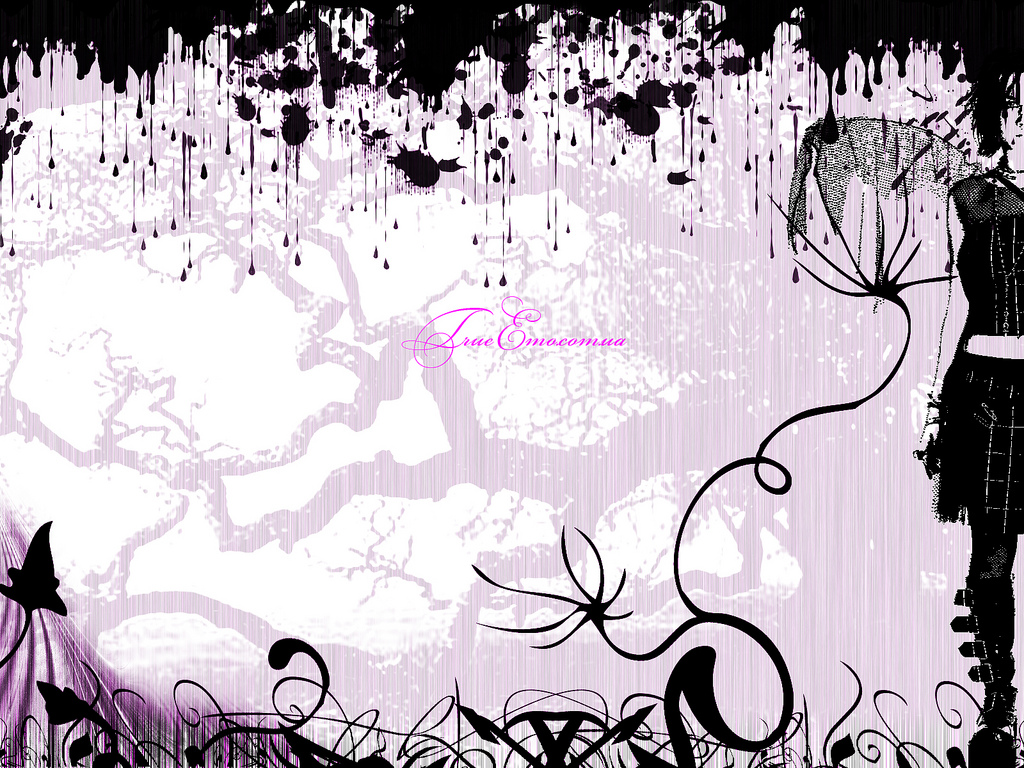 info description emo style wallpaper category miscellaneous wallpapers 1024x768