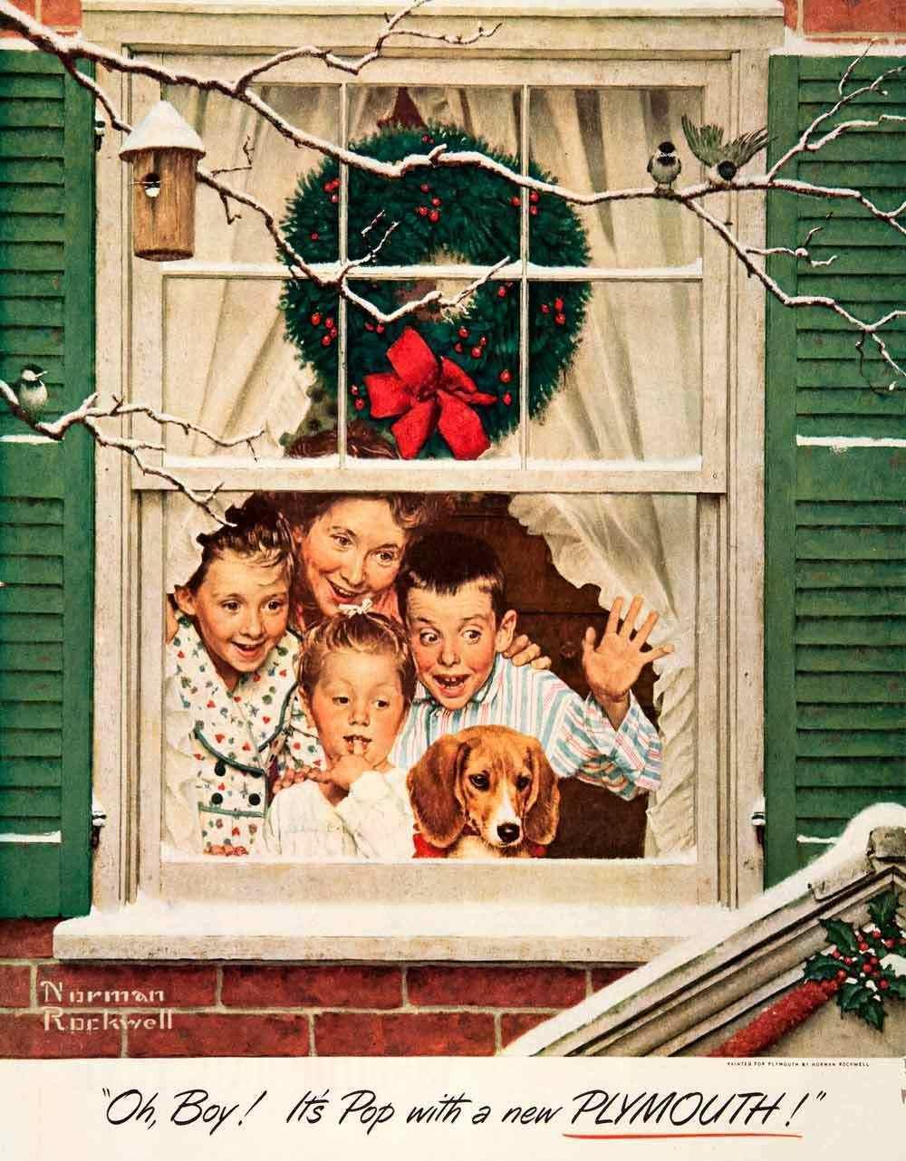 1000x1282px Norman Rockwell Christmas Wallpaper - WallpaperSafari