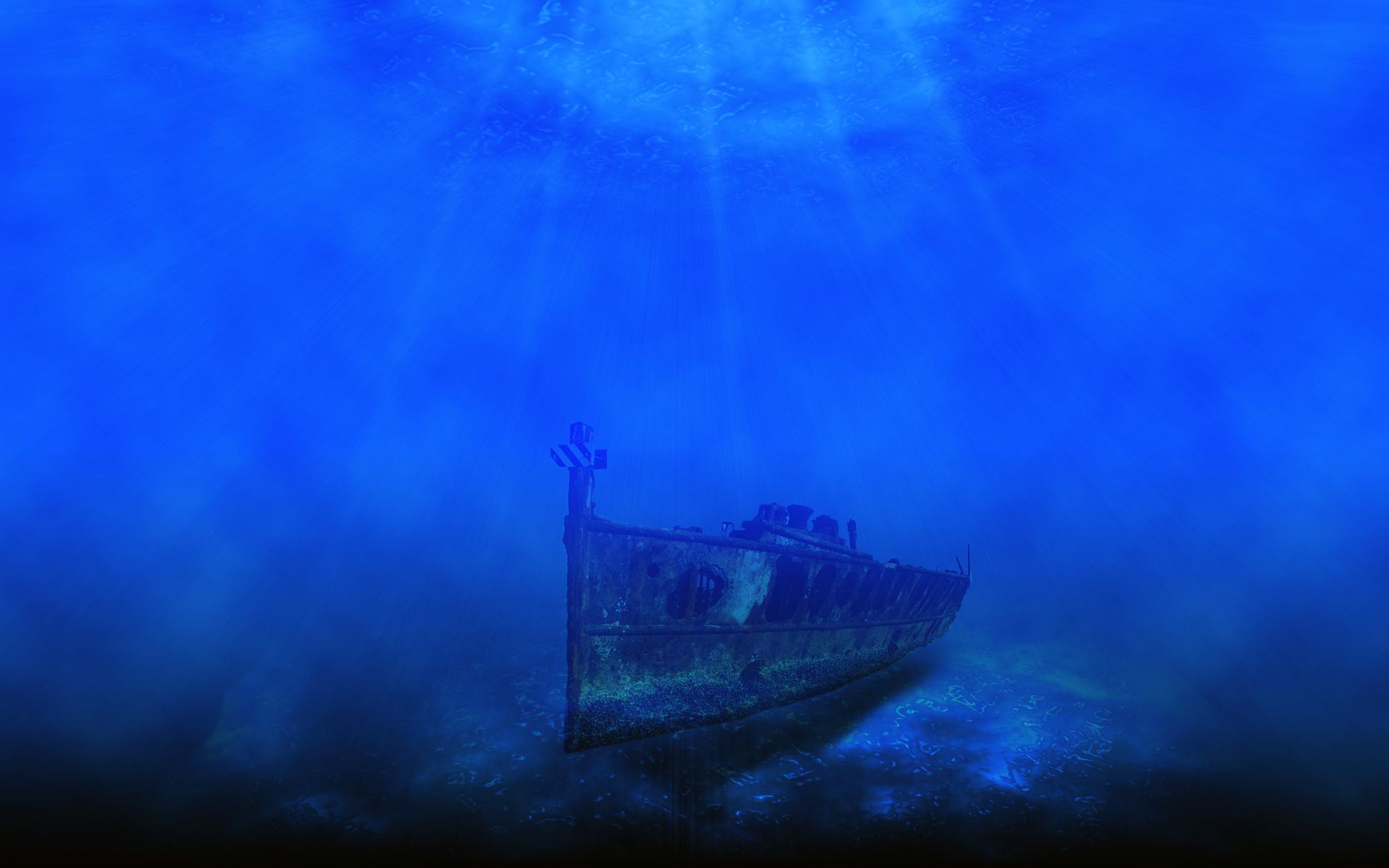 deep sea ocean backgrounds hd Car Tuning 1920x1200