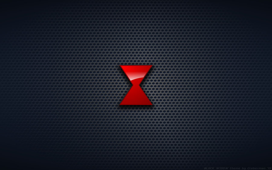 Wallpaper   Marvels Black Widow Logo by Kalangozilla 900x563