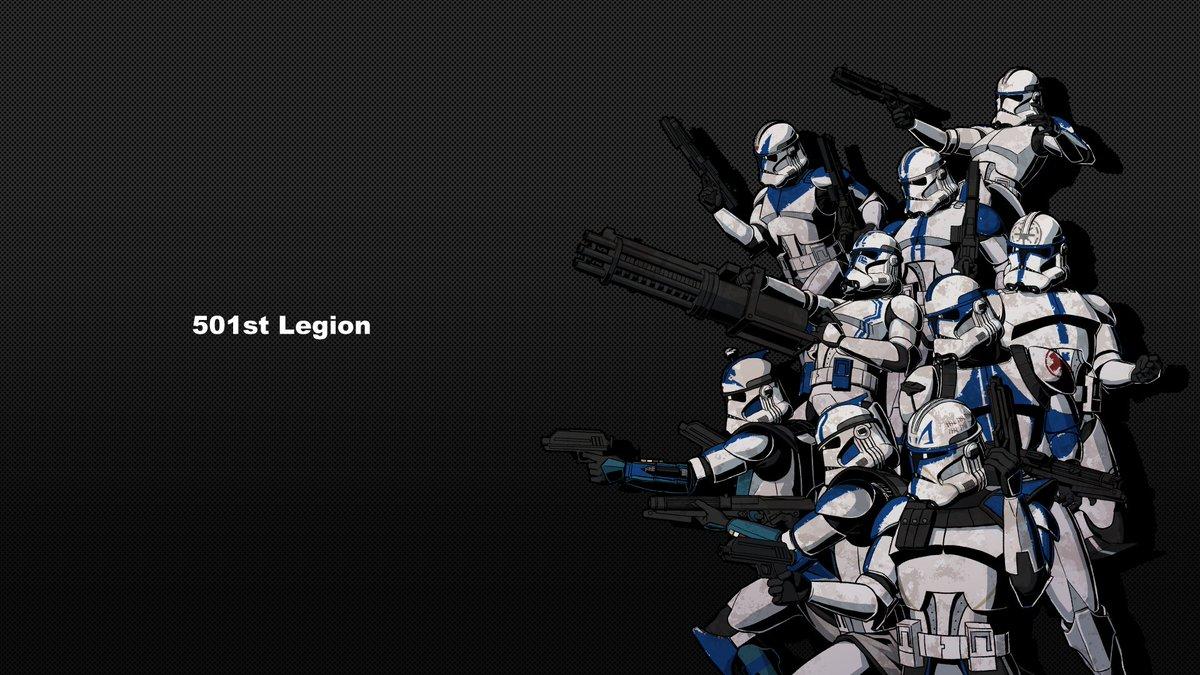 StarWars Art Gallery on Twitter 501st Legion art print 1200x675