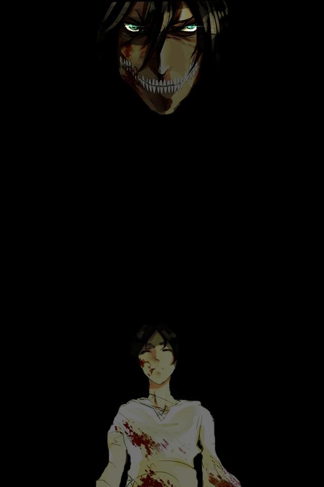 Attack On Titan iPhone 4 Wallpaper 640x960 640x960
