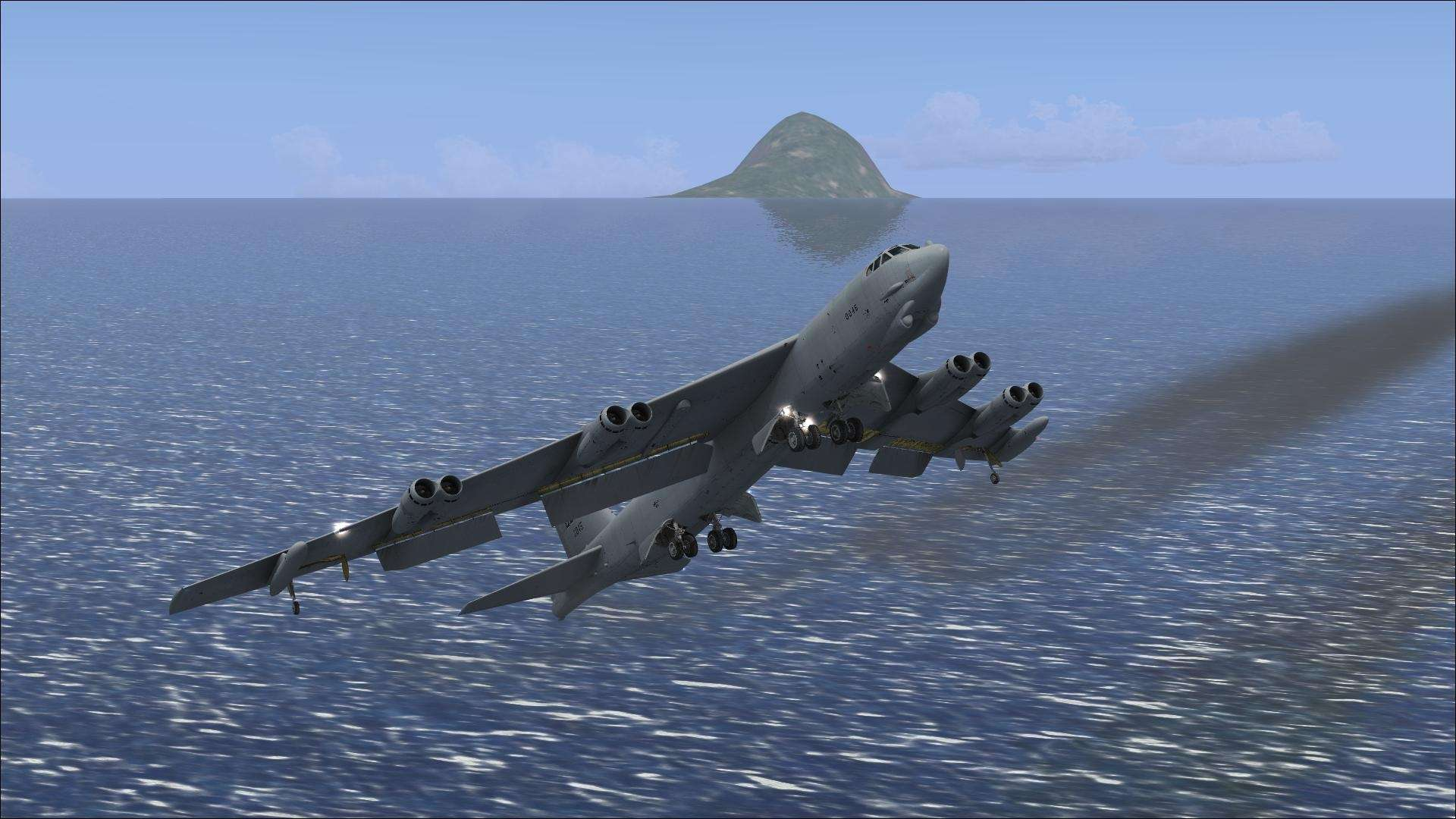 View Of Fsx B 52 Wallpaper Hd Wallpapers 1920x1080