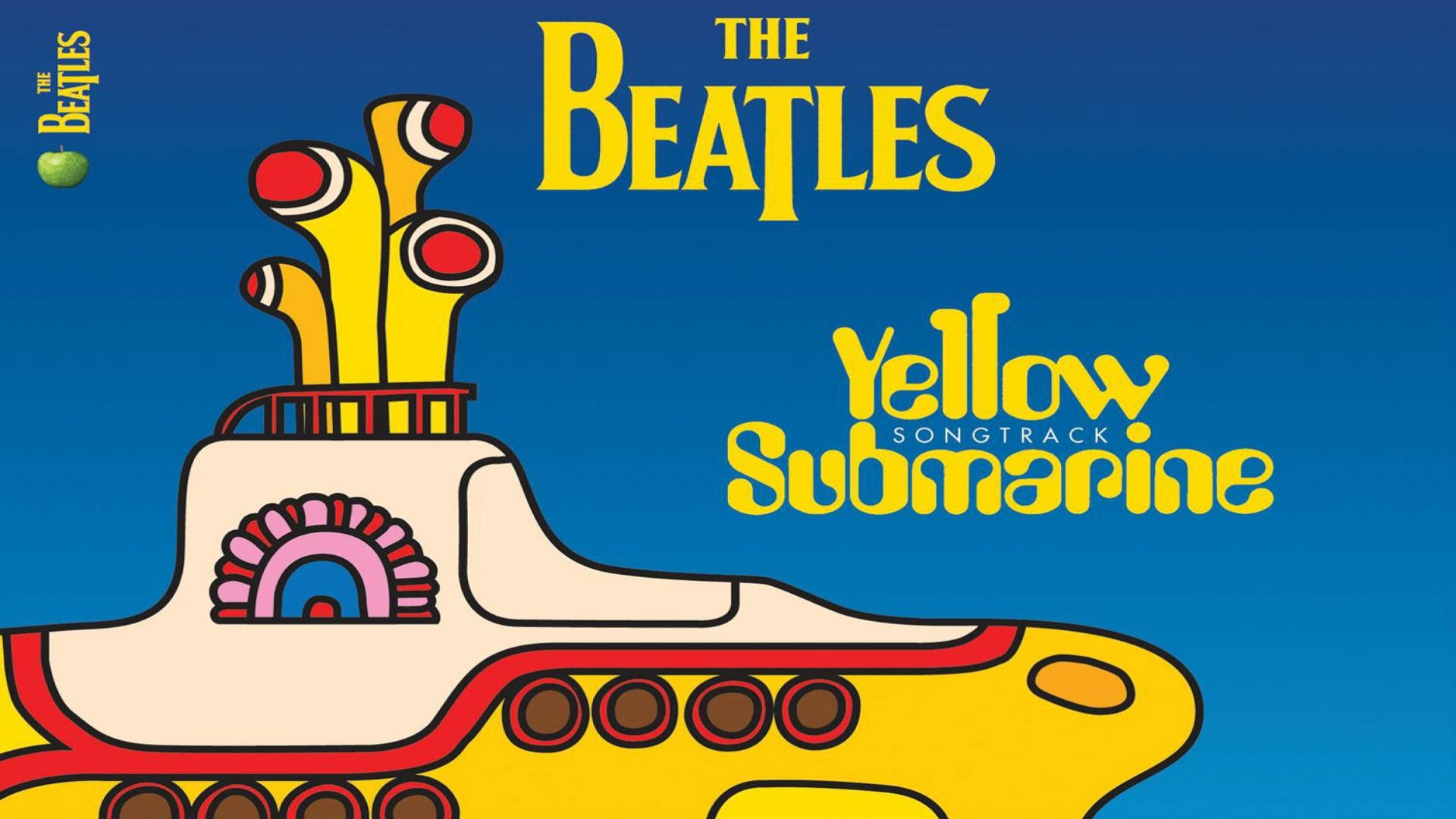 The Beatles Yellow Submarine Wallpaper Beatles yellow 1920x1080