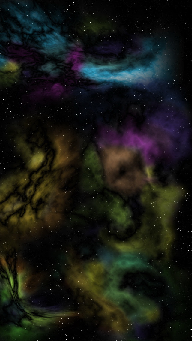 Colorful Abstract Smoke Wallpaper   iPhone Wallpapers 640x1136