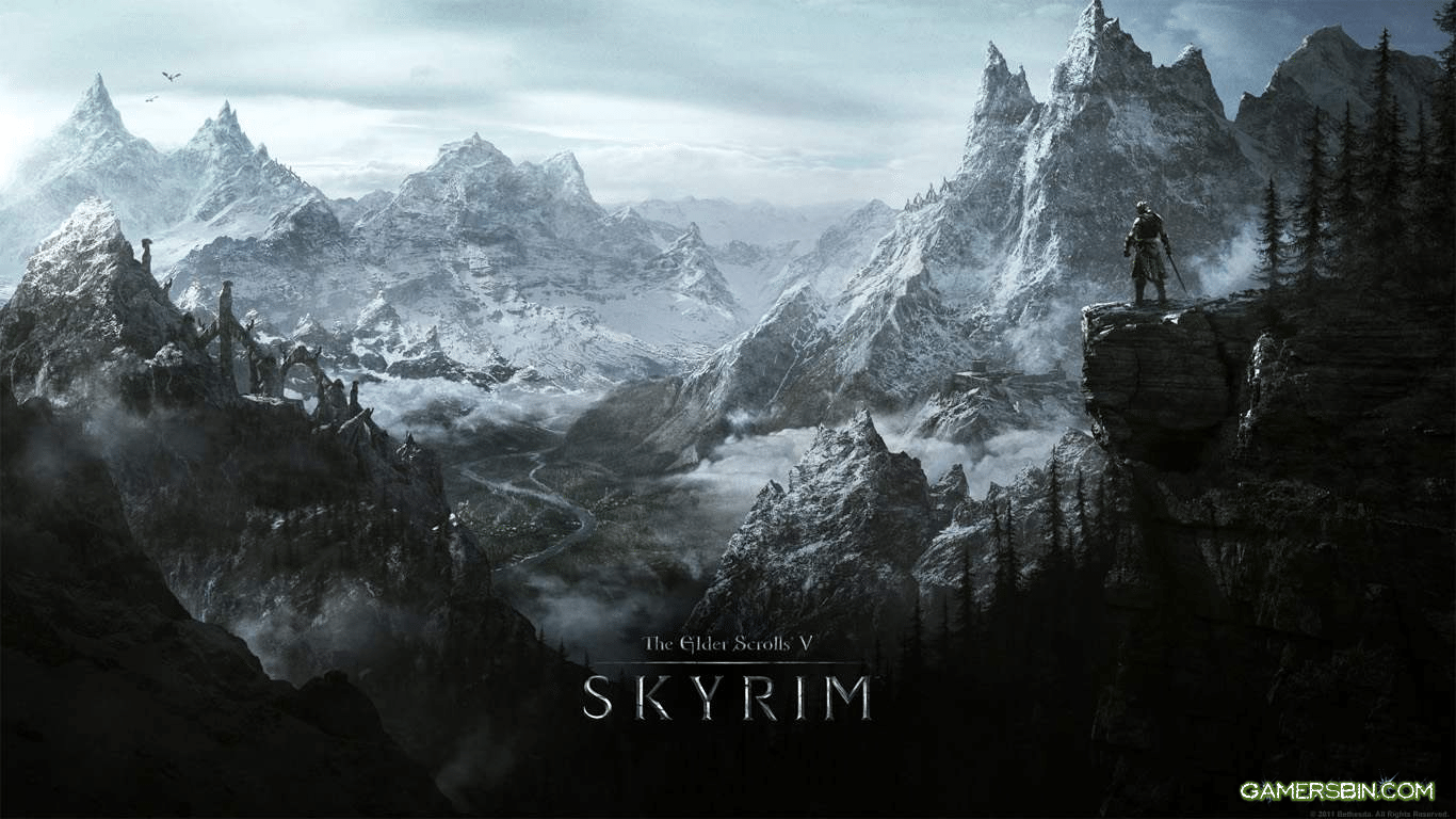 Skyrim Thread High Def Most Beautiful Wallpapers HQ Backgrounds HD 1366x768