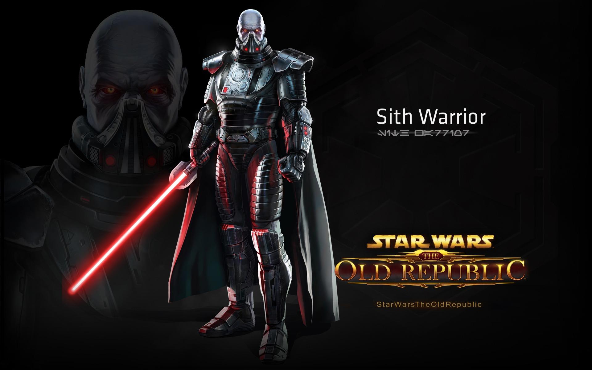 Star Wars The Old Republic Sith Warrior wallpaper   469823 1920x1200