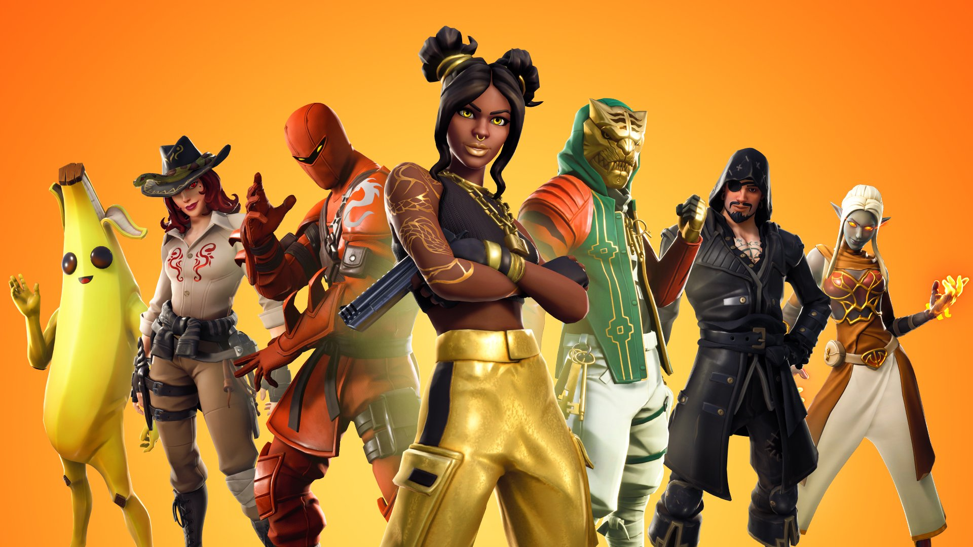 Fortnite Season 8 Battle Pass Tier 100 Luxe Skin Different Styles 1920x1080