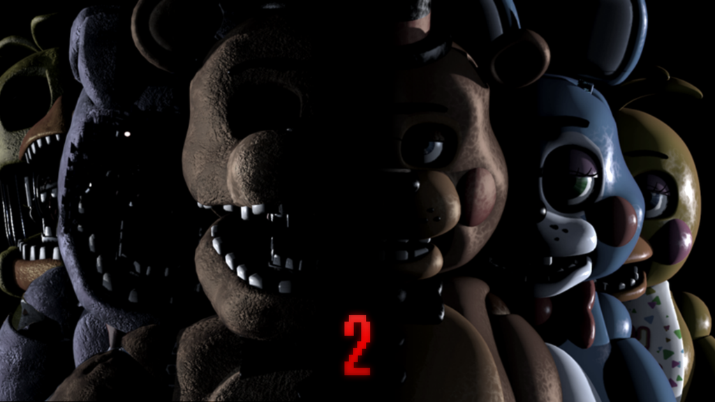 Cool fnaf wallpapers 1024x576