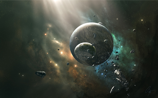 30 Breathtaking Space Themed Wallpapers Creativeoverflow 640x400
