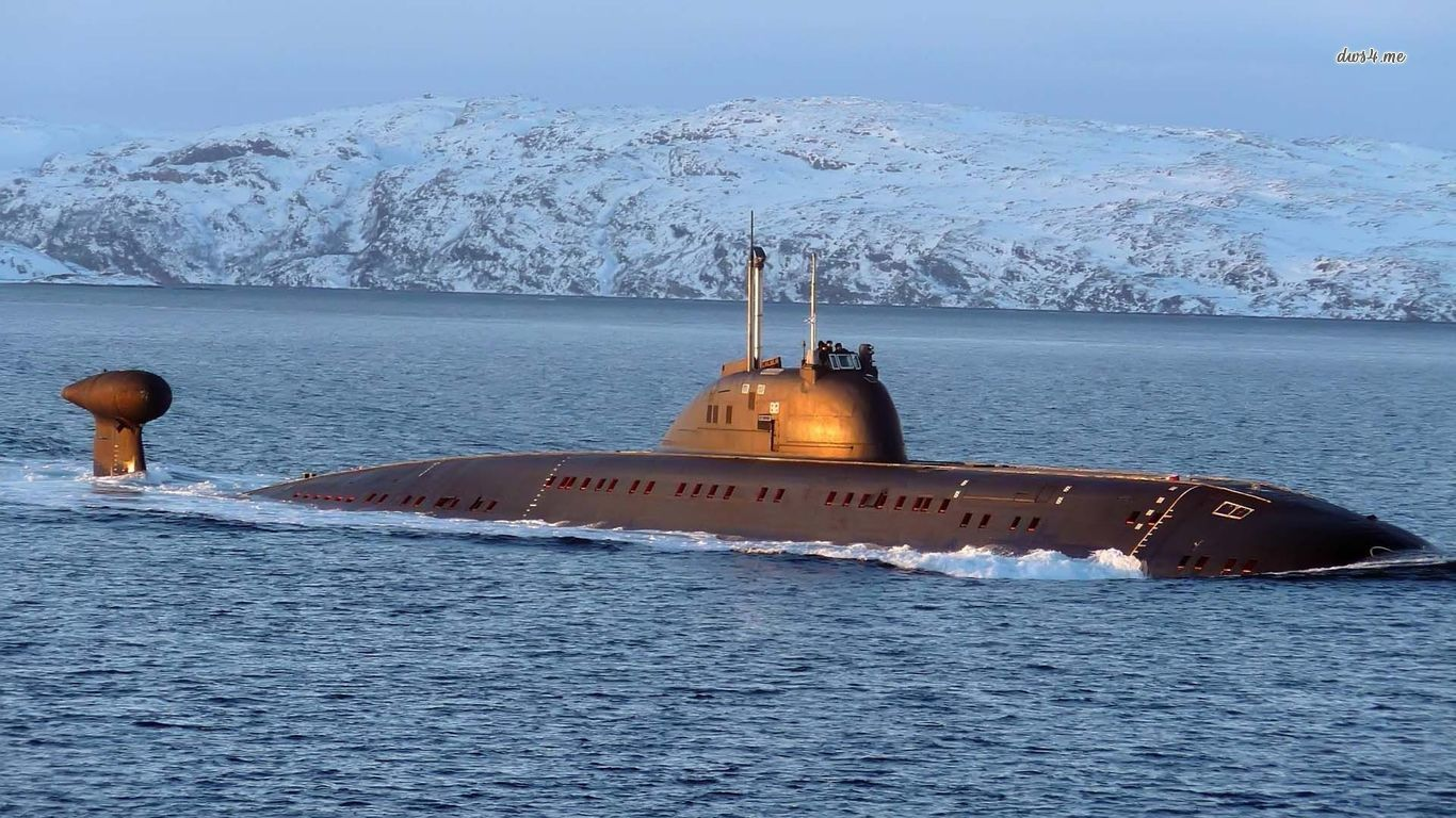 Nuclear submarine wallpaper   Photography wallpapers   41546 1366x768