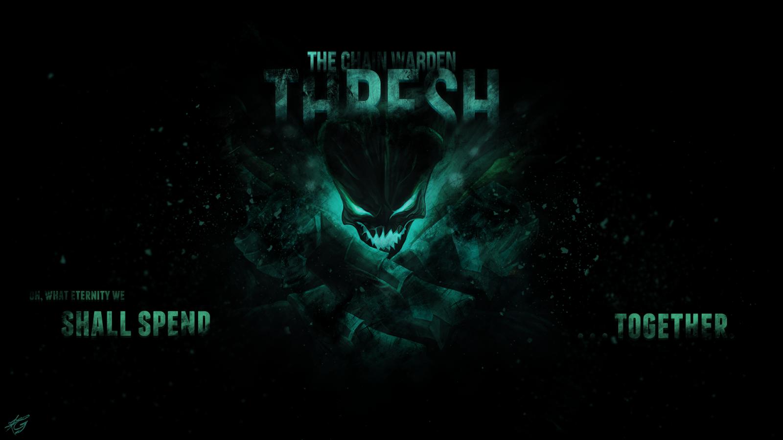 Thresh League of Legends Wallpaper, Thresh Desktop Wallpaper