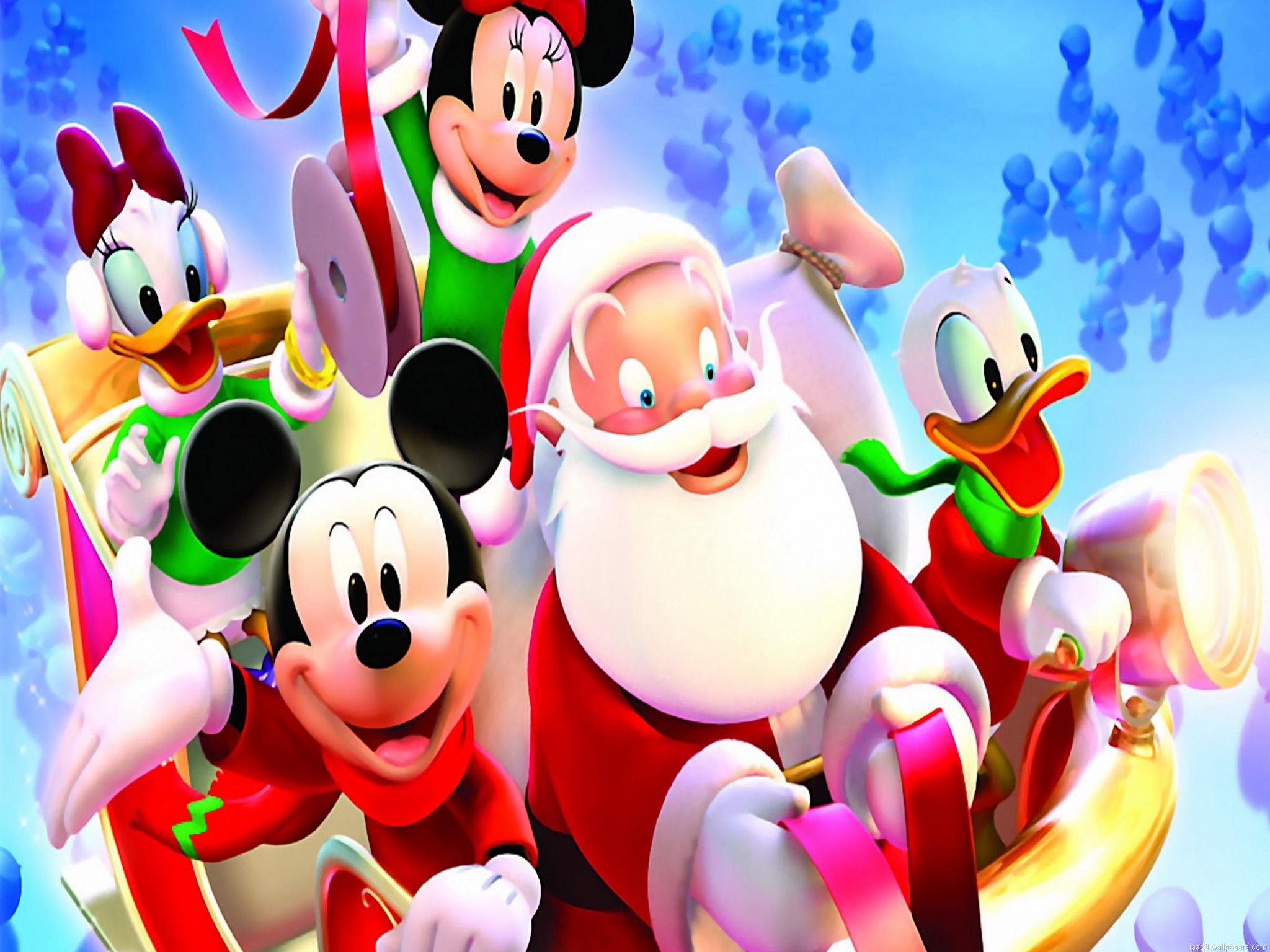 Holiday Wallpaper For Ipad: Disney Christmas Wallpaper For IPad