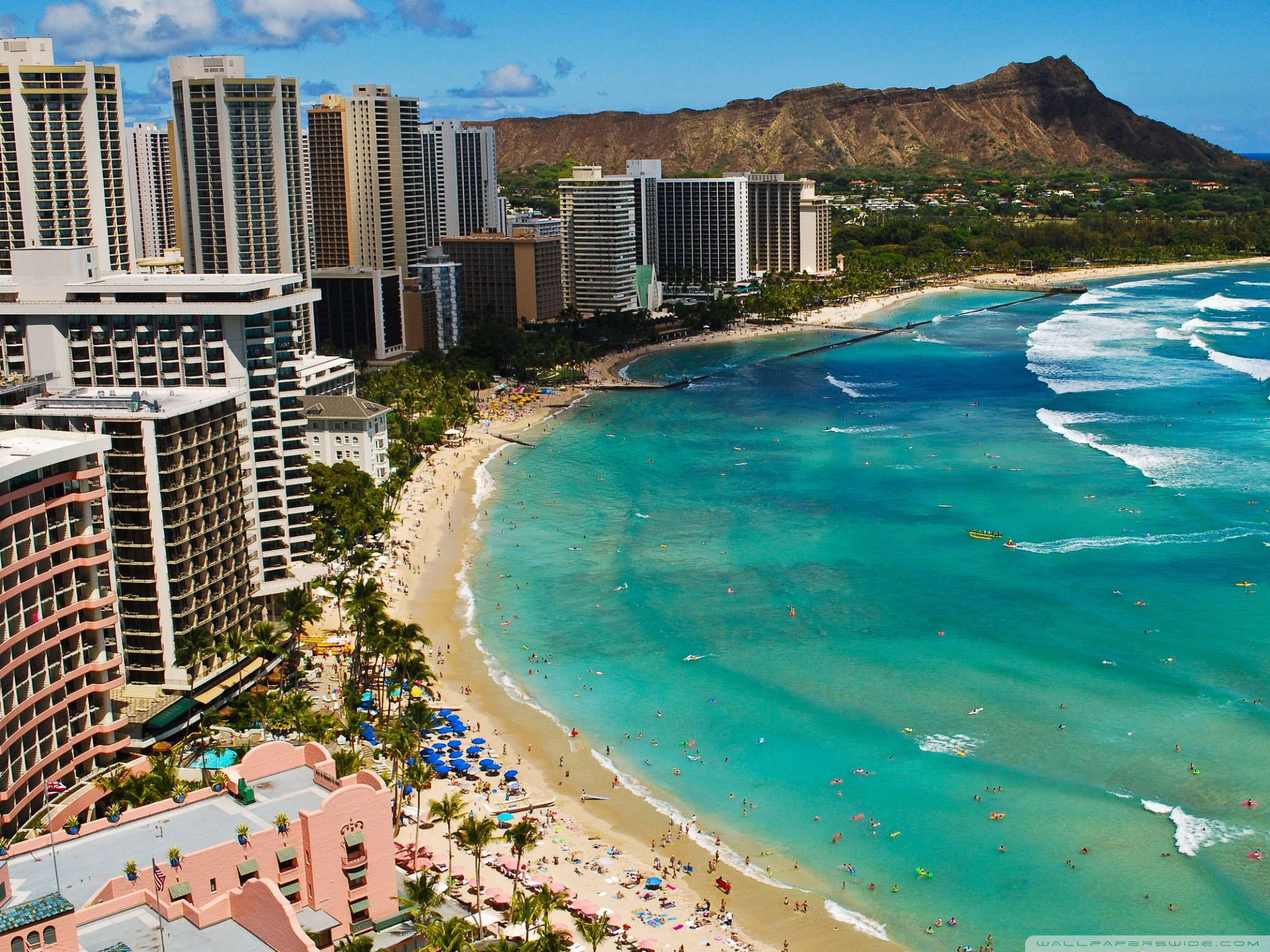 Waikiki Wallpapers and Background Images   stmednet 2048x1536