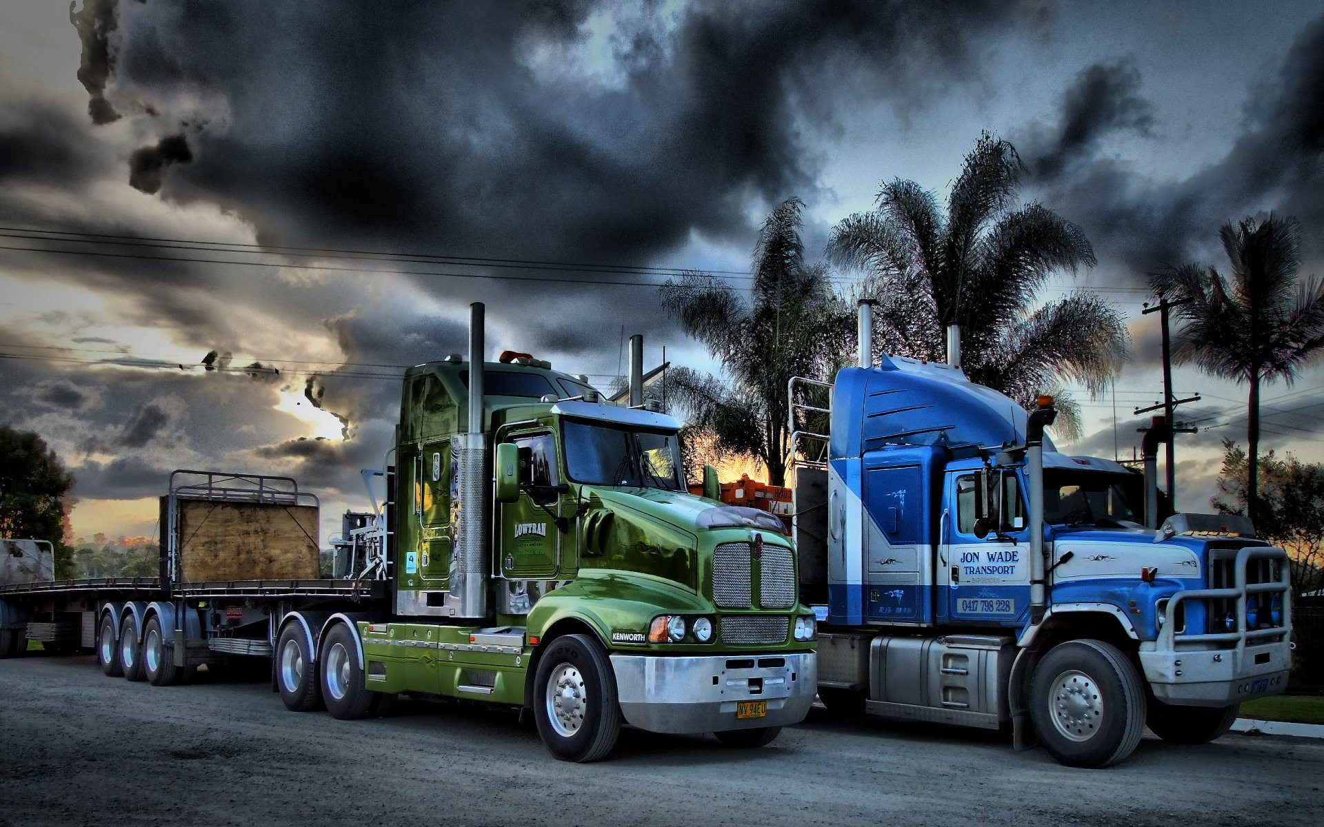 Trucks Backgrounds Group 84 1920x1200