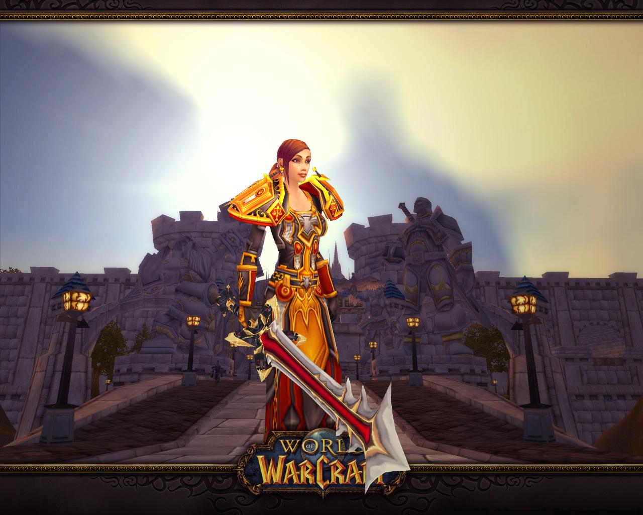 World Of Warcraft Human Wallpaper Wallpapersafari