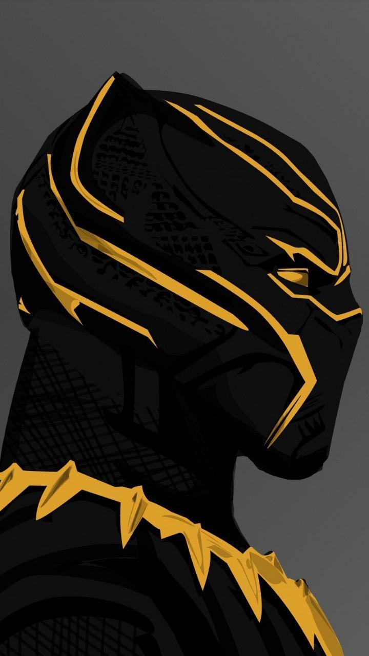Black panther 2018 movie Erik killmongers golden suit 720x1280 720x1280