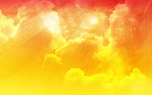 Abstract Cloudy Sky Bright Orange Peel Background Flickr 500x313